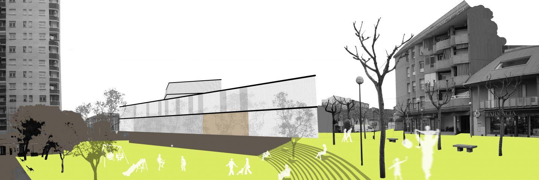 roa arquitectura y sostenibilidad cultural biblioteca montmelo 00