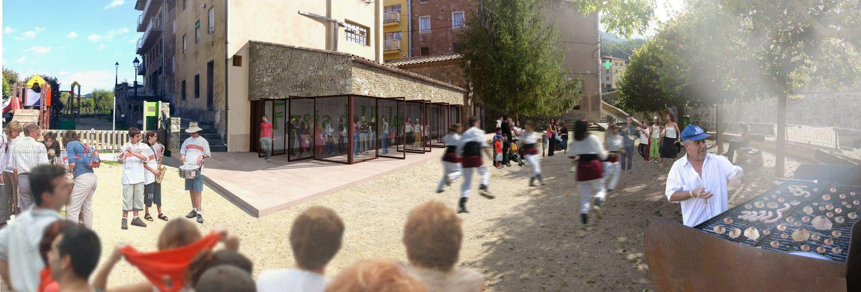 roa arquitectura y sostenibilidad oficina de turismo la pobla de llillet 02