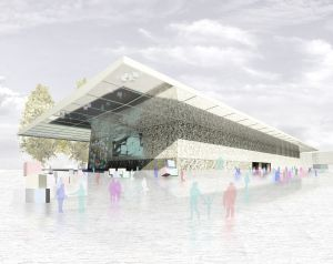 roa arquitectura y sostenibilidad recinto ferial amposta 01