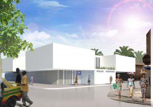 roa arquitectura y sostenibilidad equipamiento comisaria policia gambia
