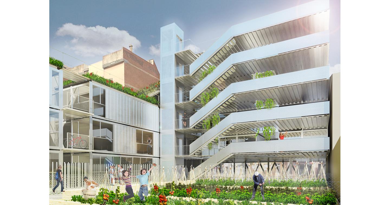 roa arquitectura y sostenibilidad residencial plurifamiliar sabadell 02